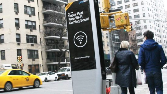 Kiosk LinkNYC. New York capitale tecnologica del mondo, ma a quale prezzo?