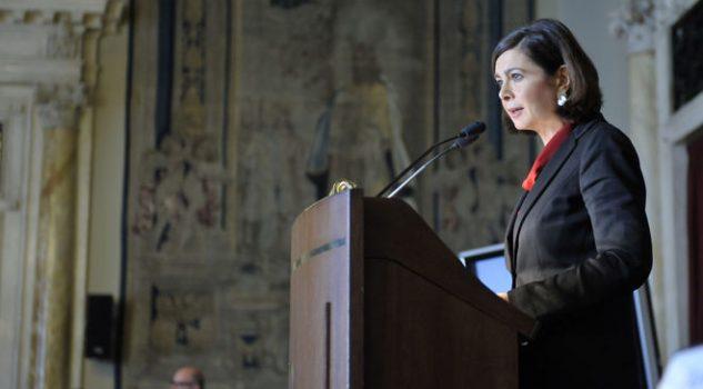 Relazione Garante Privacy, il discorso di Laura Boldrini 'No allo strapotere di Google, Facebook & Co'