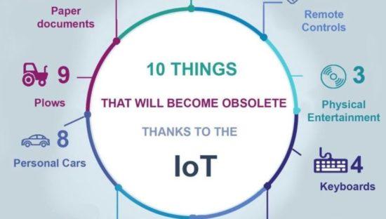 Le 10 cose che andranno in pensione con l'Internet of Things