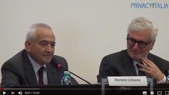 Cagliari – 10 novembre 2017 Regolamento Ue #SaveTheData. Intervento di Donato Limone, Unitelma Sapienza, Direttore SNAD