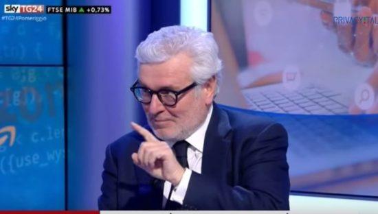 Gdpr e nuovo algoritmo di Facebook. Raffaele Barberio ospite di SkyTg24