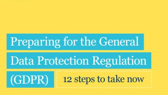 Preparing for the General Data Protection Regulation (GDPR)