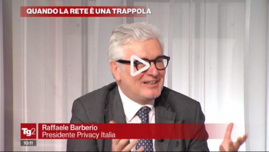 Raffaele Barberio ospite a Tg2 Lavori in corso
