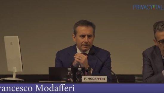 Il Garante incontra i Responsabili della Protezione dei Dati – Intervento di Francesco Modafferi