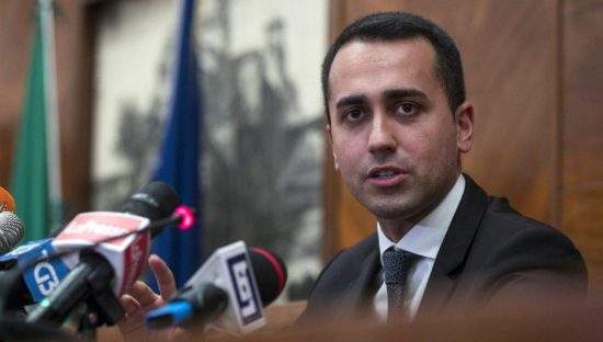 Link tax, Di Maio contro la Ue 'Vuole mettere il bavaglio alla rete'