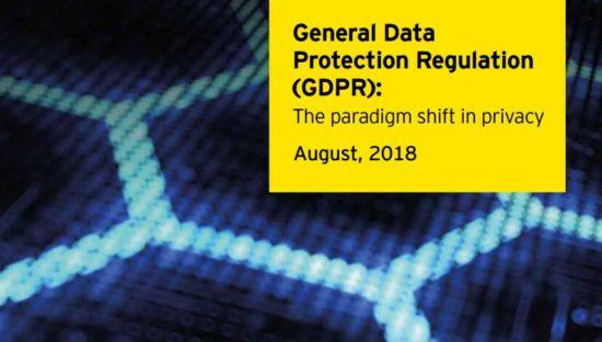 GDPR: The paradigm shift in privacy