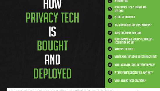 2018 Privacy Tech Vendor Report