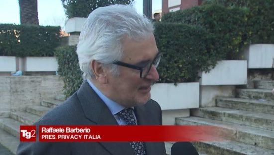 App salute & benessere, Raffaele Barberio al TG2: 'Usarle con cautela, non consegnate dati ad estranei'