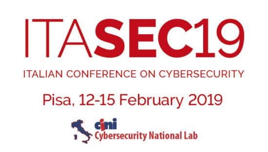 Itasec19, al via la conferenza italiana sulla cybersecurity