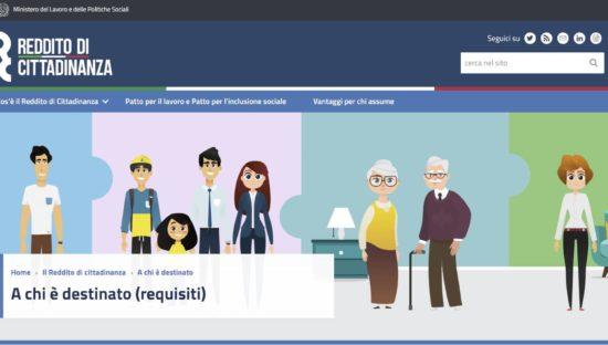 GDPR, il sito del Reddito di Cittadinanza regala dati a Google e Microsoft?