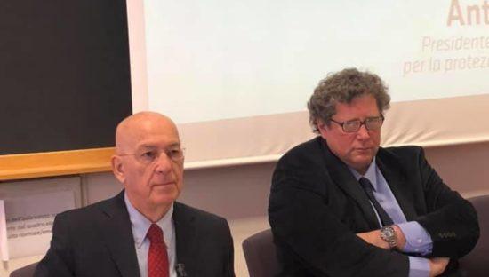 Dalla privacy alla protezione dei dati nella società digitale: lectio magistralis di Antonello Soro