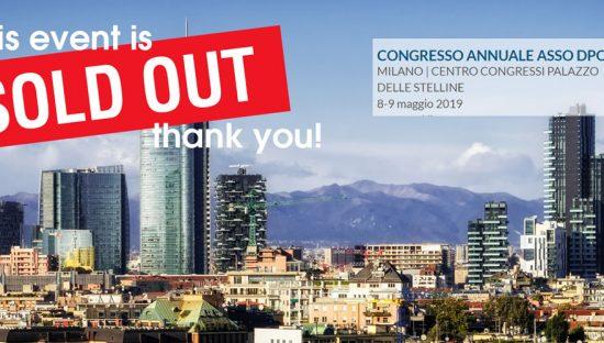 5° Congresso Internazionale ASSO DPO | Milano, 8 e 9 Maggio 2019. L'agenda