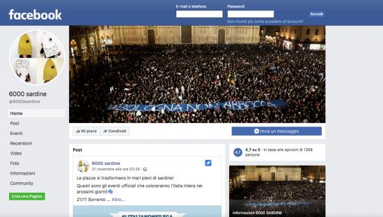 Antonello Soro: 'Sardine bloccate su Facebook? Troppo potere agli algoritmi'